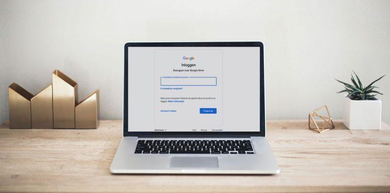 Inloggen google account