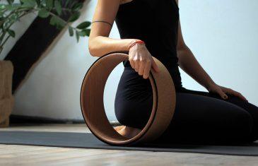 Hoe yogawiel oefeningen